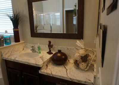 Refinish Countertops CrystalTop Finish Bathroom Counters 1