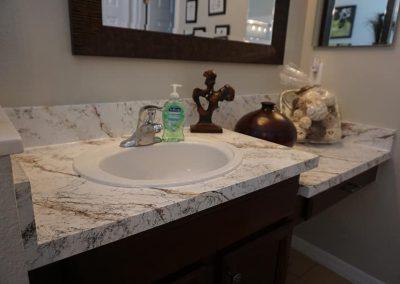 Refinish Countertops CrystalTop Finish Bathroom Counters 2