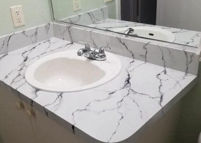 Refinish Countertops CrystalTop Finish Bathroom Counters 4