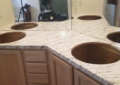 Refinish Countertops CrystalTop Finish Bathroom Counters 5