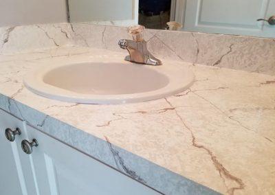 Refinish Countertops CrystalTop Finish Bathroom Counters 9